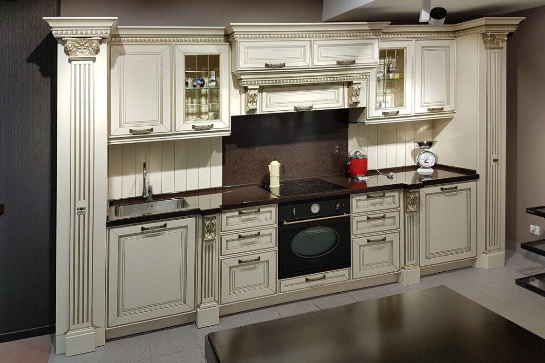 Классические кухни белые мария фото